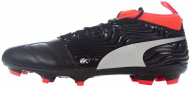 Puma One 18.3 Firm Ground - Puma Black Puma Silver Red Blast (10453801)