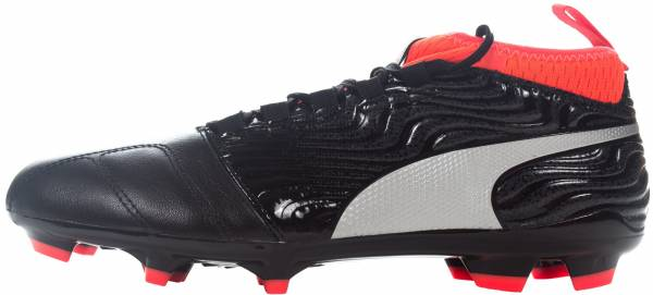 Puma One 18.3 Firm Ground Puma Black-puma Silver-red Blast