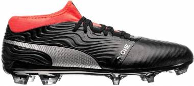 Puma One 18.2 Artificial Grass - Nero (Puma Black-puma Silver-red Blast)