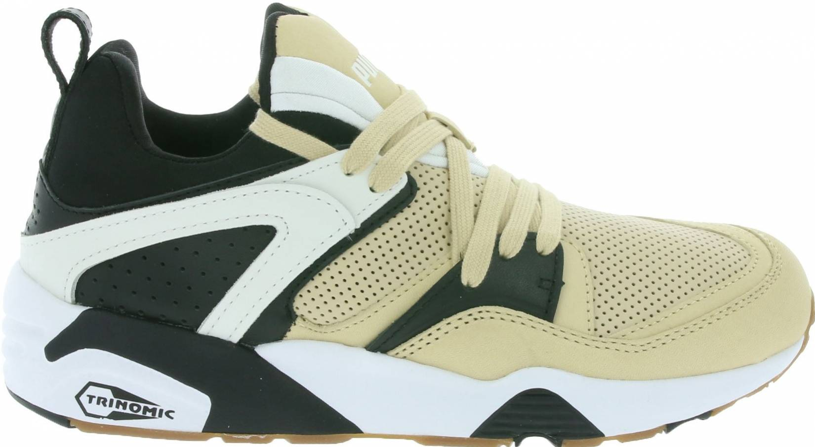 Puma Blaze of Glory sneakers in white red (only $50)   RunRepeat