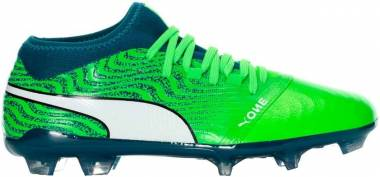 Puma One 18.2 Firm Ground - Green Gecko-puma White-deep Lagoon
