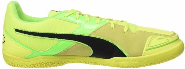 Puma Invicto Sala Indoor - Amarillo Safety Yellow Puma Black Green Gecko 15 (10324115)