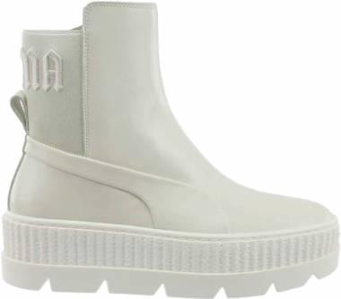 watch e8e86 c6ff3 Puma x FENTY Chelsea Sneaker Boot White Men