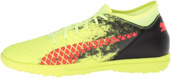 Puma Future 18.4 Turf Fizzy Yellow-red Blast-puma Black