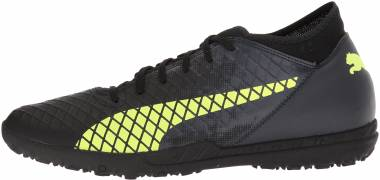 Puma Future 18.4 Turf - Puma Black-fizzy Yellow-asphalt