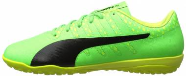 Puma EvoPower Vigor 4 Turf - Green Gecko-puma Black-safety Yellow