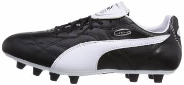 Puma Liga Classico Firm Ground - Black/White/Puma Silver