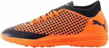 Puma Future 2.4 Turf - Puma Black/Shocking Orange
