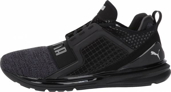 Puma IGNITE Limitless Knit Black / Puma Silver