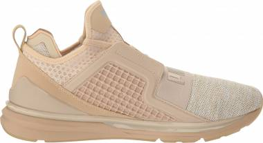 Puma IGNITE Limitless Knit - Beige (Pebble-whisper White) (18998708)