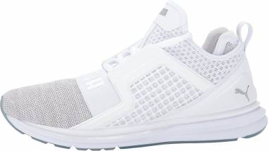 Puma IGNITE Limitless Knit - White / Puma Silver