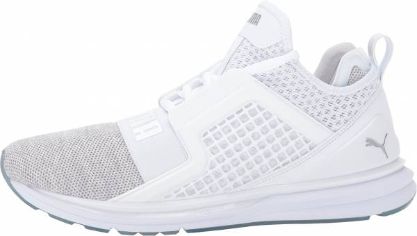 Puma IGNITE Limitless Knit - White / Puma Silver (18998705)