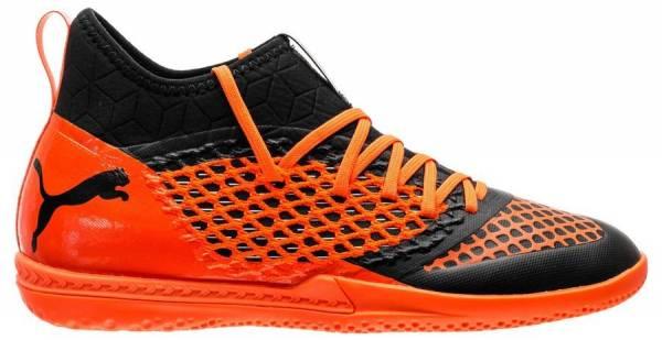 516ca406dec Puma Future 2.3 Netfit Indoor Puma Black-shocking Orange