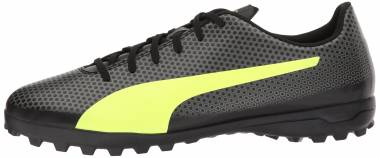 Puma Spirit Turf puma black-fizzy yellow-castor gray Men