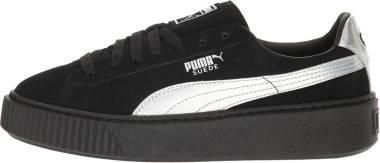 Puma Suede Platform Explosive - Black