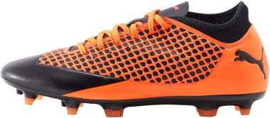 Puma Future 2.4 FG/AG Puma black-Shocking orange Men