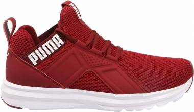 Puma Enzo Weave - Pomegranate Puma White