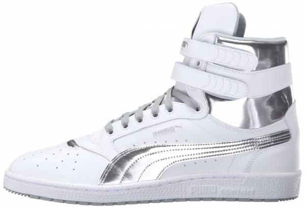 Puma Sky II Hi FG Foil White/Silver
