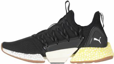 f75fab64ae6 Puma Hybrid Rocket Runner Puma Black-puma White-blazing Yellow Men