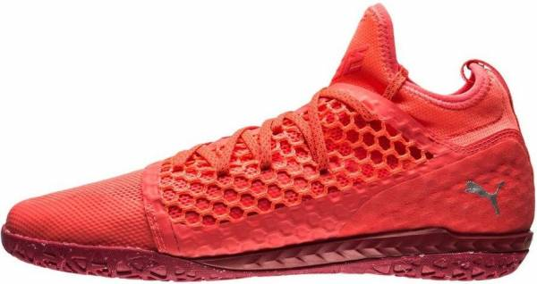 87b732f6e9e1 Puma 365 Ignite Netfit Court Trainer Fiery Coral-puma White-toreador
