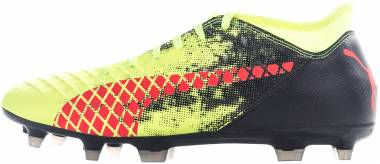 Puma Future 18.4 hyFG - Fizzy Yellow-red Blast-puma Black