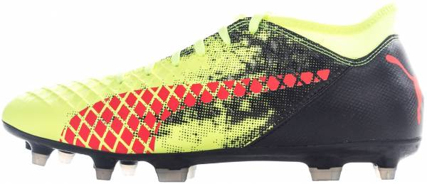 Puma Future 18.4 hyFG - Fizzy Yellow Red Blast Puma Black (10434401)