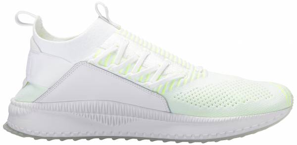 Puma TSUGI Jun Pace puma white-pale lime yellow