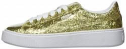 Puma Basket PlatformGlitter W Schuhe gold