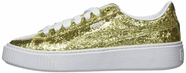 acb8f367f8cd 9 Reasons to NOT to Buy Puma Basket Platform Glitter (Apr 2019 ...