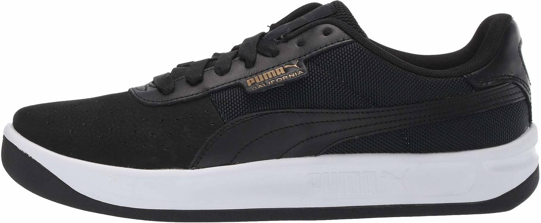 Plano Casi mayor  Puma California sneakers in black (only $45) | RunRepeat