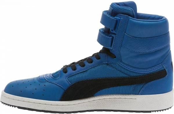 Puma Sky II Hi Colorblocked Leather  - Lapis Blue-puma Black (36385401)