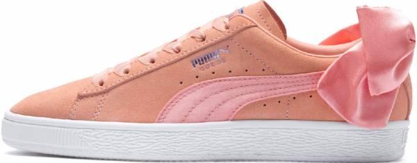 Puma Suede Bow Pink (Peach Bud-puma White)
