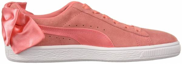 Puma Suede Bow - Shell Pink / Shell Pink