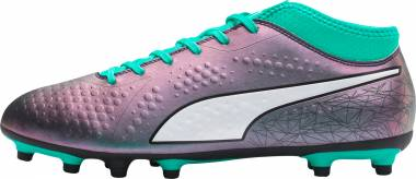 Puma One 4 Illuminate Synthetic Firm Ground Green Men
