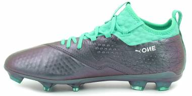 Puma One 2 Illuminate Firm Ground - Violett (Color Shift-biscay Green-puma White-puma Black)