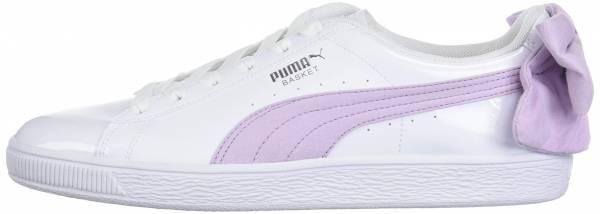 Puma Basket Bow - Puma White-winsome Orchid