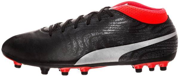 Puma One 18.4 Artificial Grass Nero (Puma Black-puma Silver-red Blast)