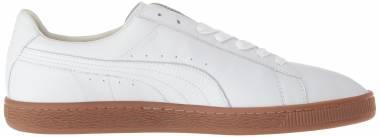 Puma Basket Classic Gum Deluxe - White (36661202)