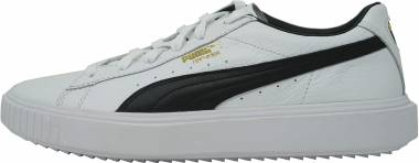 Puma Breaker Leather - Puma White / Puma Black