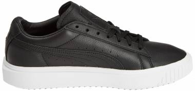 Puma Breaker Leather - Puma Black Puma White Phlox