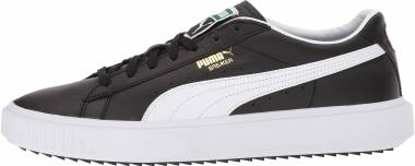 Puma Breaker Leather - White Black