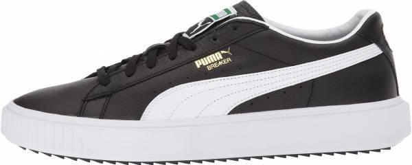 Puma Breaker Leather - Puma Black / Puma White