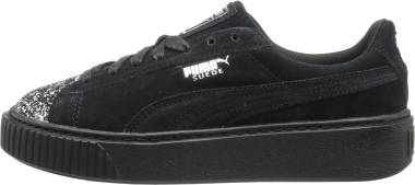 Puma Suede Platform Crushed Gem - Black