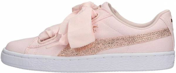 Puma Basket Heart Canvas Pearl / Puma White / Rose Gold