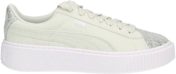 new product eed94 1cabf Puma Basket Platform Canvas