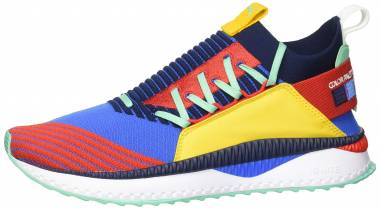 Puma TSUGI Jun Primary Pigment Strong Blue-high Risk Red-spectra Yellow Men