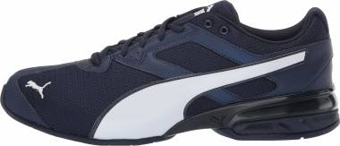 Puma Tazon 6 Heather Rip - Peacoat Puma Black Puma White