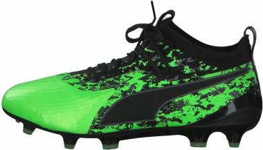 Puma One 19.1 FG/AG - Green Gecko-Puma Black-Charcoal Gray (10547904)