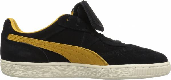Puma King Suede Legends Puma Black-mineral Yellow-whisper White