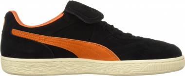 Puma King Suede Legends - Puma Black Vibrant Orange Whisper White